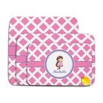 Diamond Print w/Princess Memory Foam Bath Mat (Personalized)