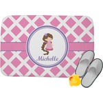 Diamond Print w/Princess Memory Foam Bath Mat (Personalized)