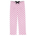 Diamond Print w/Princess Mens Pajama Pants (Personalized)