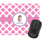 Diamond Print w/Princess Mouse Pads (Personalized)