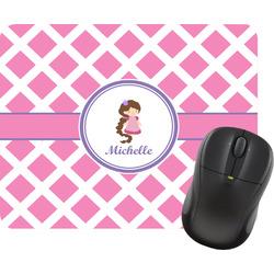 Diamond Print w/Princess Mouse Pad (Personalized)