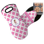 Diamond Print w/Princess Neoprene Oven Mitt (Personalized)