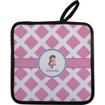 Diamond Print w/Princess Pot Holder (Personalized)