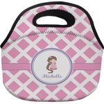 Diamond Print w/Princess Lunch Bag (Personalized)