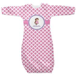 Diamond Print w/Princess Newborn Gown (Personalized)