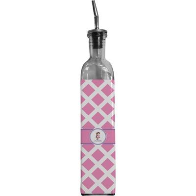 Diamond Print w/Princess Oil Dispenser Bottle (Personalized)