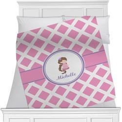 Diamond Print w/Princess Blanket (Personalized)