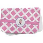 Diamond Print w/Princess Burp Cloth (Personalized)