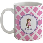 Diamond Print w/Princess Coffee Mug (Personalized)