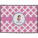 Diamond Print w/Princess Door Mat (Personalized)