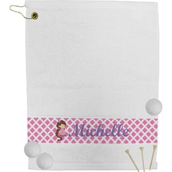 Diamond Print w/Princess Golf Towel (Personalized)