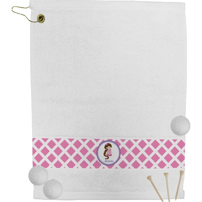 Diamond Print w/Princess Golf Towel (Personalized)