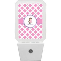 Diamond Print w/Princess Night Light (Personalized)