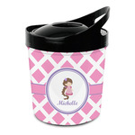 Diamond Print w/Princess Plastic Ice Bucket (Personalized)
