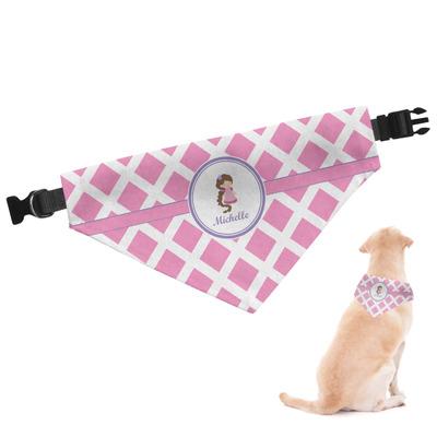 Diamond Print w/Princess Dog Bandana (Personalized)