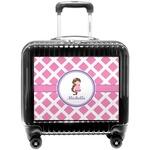 Diamond Print w/Princess Pilot / Flight Suitcase (Personalized)