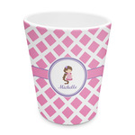 Diamond Print w/Princess Plastic Tumbler 6oz (Personalized)