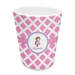 Diamond Print w/Princess Plastic Tumbler 6oz (Personalized)
