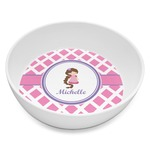 Diamond Print w/Princess Melamine Bowl 8oz (Personalized)