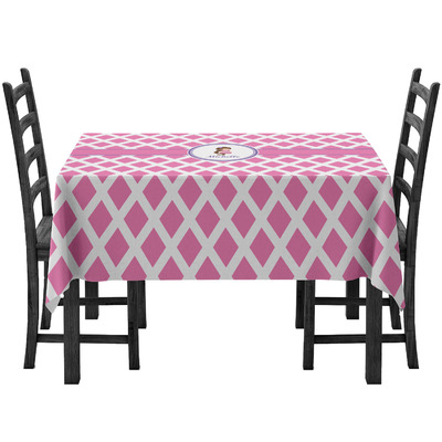 Diamond Print w/Princess Tablecloth (Personalized)