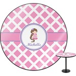 Diamond Print w/Princess Round Table (Personalized)