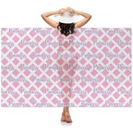 Diamond Print w/Princess Sheer Sarong (Personalized)