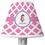 Diamond Print w/Princess Shade Night Light (Personalized)