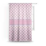 Diamond Print w/Princess Sheer Curtains (Personalized)