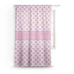 Diamond Print w/Princess Sheer Curtains (Personalized)
