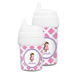 Diamond Print w/Princess Sippy Cup (Personalized)