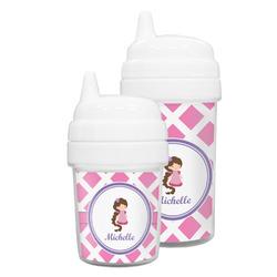 Diamond Print w/Princess Sippy Cup (Personalized)