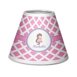 Diamond Print w/Princess Chandelier Lamp Shade (Personalized)