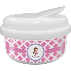 Diamond Print w/Princess Snack Container (Personalized)