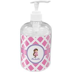 Diamond Print w/Princess Soap / Lotion Dispenser (Personalized)