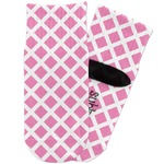 Diamond Print w/Princess Toddler Ankle Socks (Personalized)