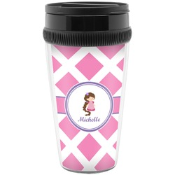 Diamond Print w/Princess Travel Mug (Personalized)