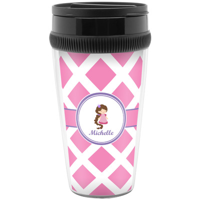 Diamond Print w/Princess Travel Mug (Personalized)