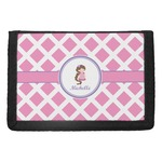 Diamond Print w/Princess Trifold Wallet (Personalized)