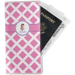Diamond Print w/Princess Travel Document Holder