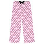 Diamond Print w/Princess Womens Pajama Pants (Personalized)
