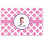 Diamond Print w/Princess Woven Mat (Personalized)