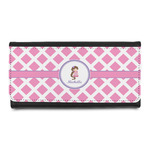 Diamond Print w/Princess Leatherette Ladies Wallet (Personalized)