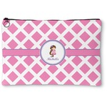 Diamond Print w/Princess Zipper Pouch (Personalized)
