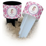 Diamond Print w/Princess Beach Spiker Drink Holder (Personalized)