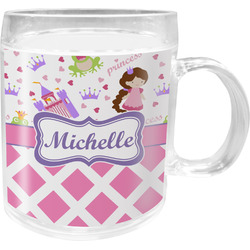 Princess & Diamond Print Acrylic Kids Mug (Personalized)