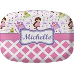 Princess & Diamond Print Melamine Platter (Personalized)