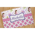 Princess & Diamond Print Area Rug (Personalized)