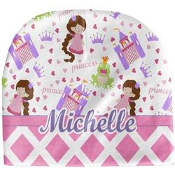 Princess & Diamond Print Baby Hat (Beanie) (Personalized)