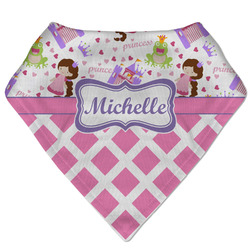 Princess & Diamond Print Bandana Bib (Personalized)