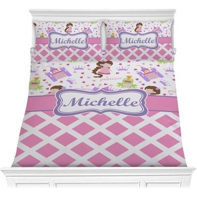 Princess & Diamond Print Comforters (Personalized)